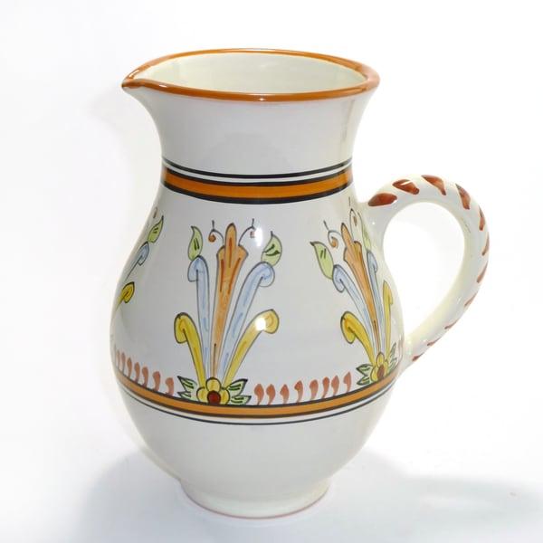 Sauvage Design Ceramic 54-oz Large Pitcher (Tunisia)