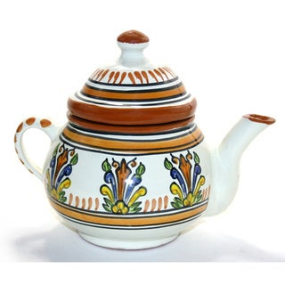 Sauvage Design Ceramic 24-oz Teapot (Tunisia)