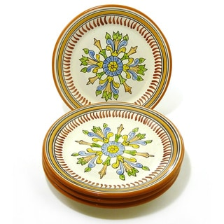 Set of 4 Sauvage Design 8-inch Round Side Plates (Tunisia)