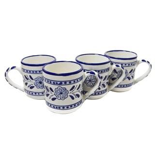 Set of 4 Azoura Design 12-oz Coffee Mugs (Tunisia)
