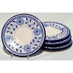 Azoura Design 7-inch Saucers (Set of 4)(Tunisia)