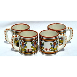 Set of 4 Sauvage Design 12-oz Coffee Mugs (Tunisia)