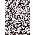 Asian Hand-tufted Tibetan Cheetah-print Wool Rug (8' x 11')