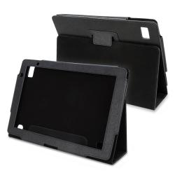 Black Leather Case for Acer Iconia A500