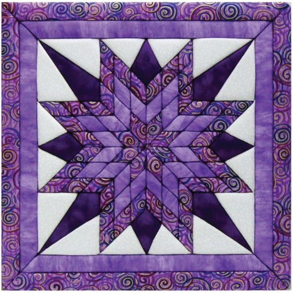 Starburst 12x12 Quilt Magic Kit