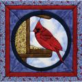 Quilt Magic Cardinal Quilt Kit (12x12)