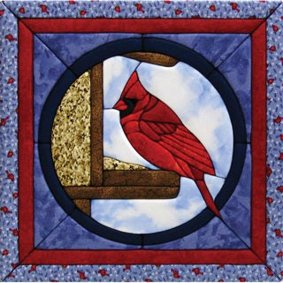 Quilt Magic Cardinal Quilt Kit (12x12)