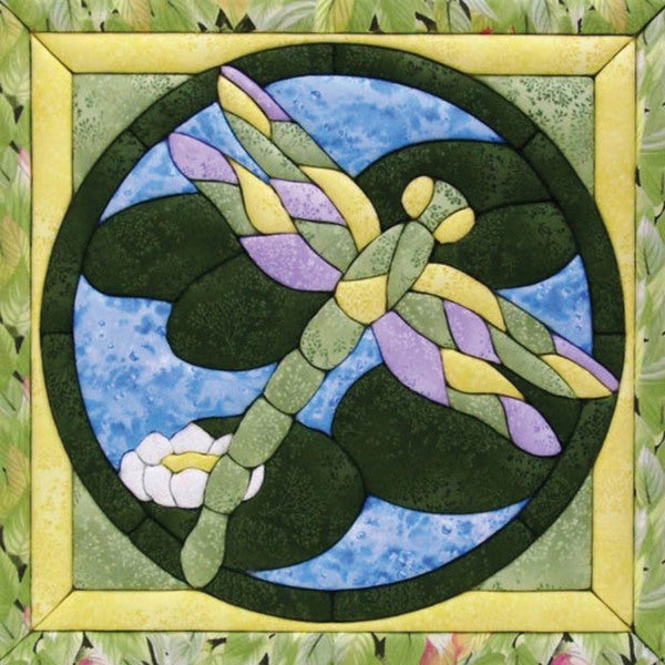 Quilt Magic Dragonfly Quilt Kit (12x12)