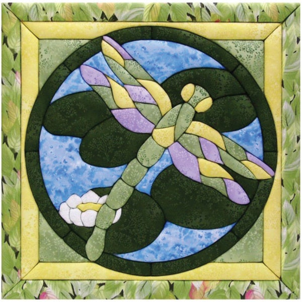 Quilt Magic Dragonfly Quilt Kit (12x12)