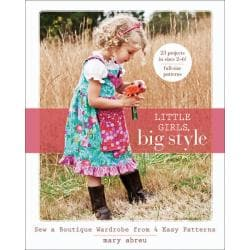C & T Publishing 'Little Girls, Big Style' Book
