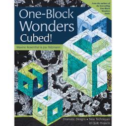 C & T Publishing 'One-Block Wonders Cubed!' Book