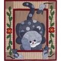 Spotty Cat 13x15 Quilt Kit