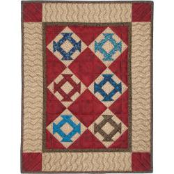 Rachels of Greenfield 'Hole In The Barn Door' Quilt Kit (17 x 22)