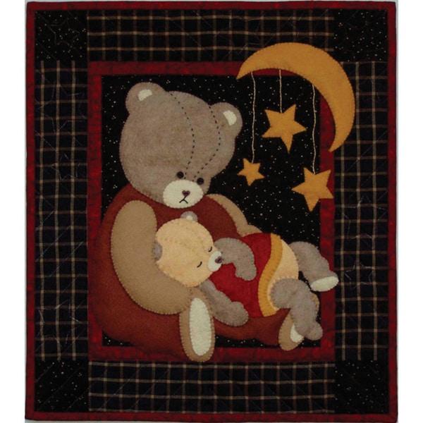 Rachels of Greenfield Baby Bear Wall Quilt Kit (13x15)