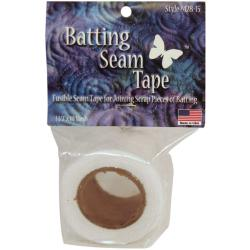 White 10-yd Batting Seam Tape