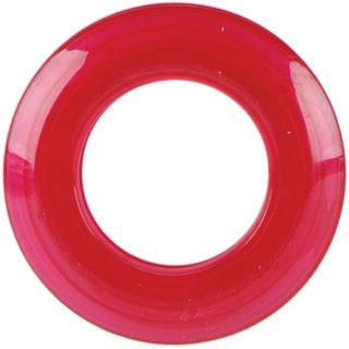 Products From Abroad Fuchsia 25-mm Transparent Grommets (Pack of 8)