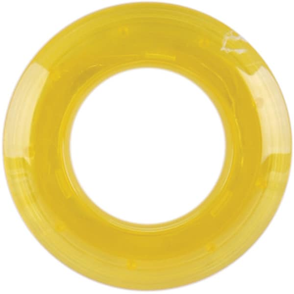 Yellow 25-mm Transparent Grommets (Pack of 8)