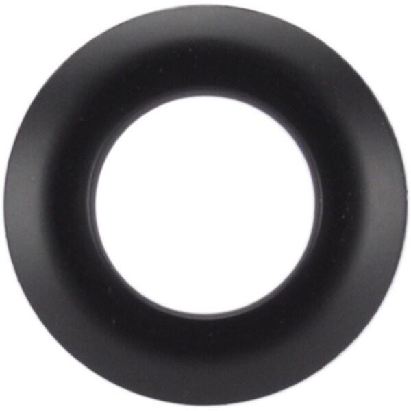 25mm Black Grommets (Pack of 8)