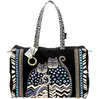 Spotted Cats Zip Top Travel Bag