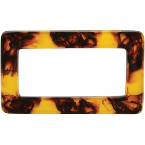 Sunbelt 'Tortoise Shell' Rectangular Plastic Purse Handle
