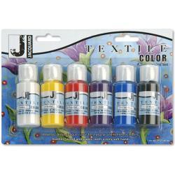 Jacquard Six-pack Textile Color Paint Set