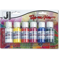 Dye-Na-Flow Six Pack Paint Set