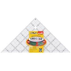 Olfa Frosted Advantage Non-Slip Triangular Ruler