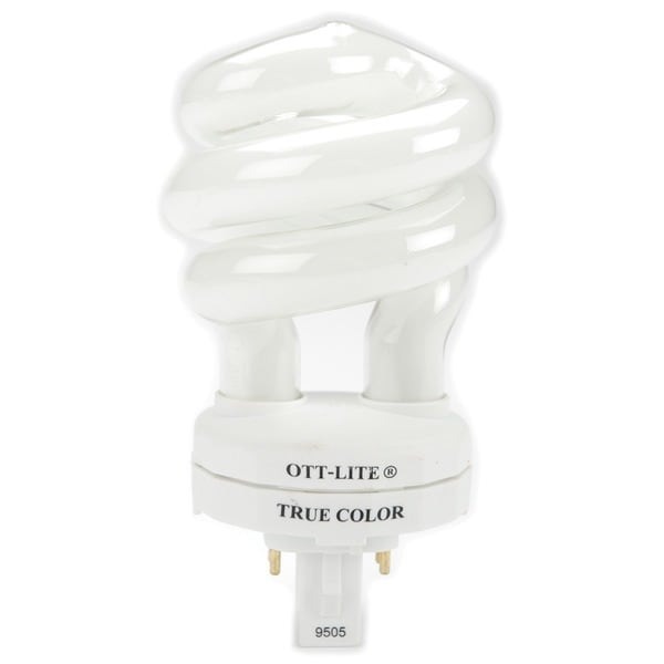 Ott lite truecolor replacement bulb 18 watt overstock shopping big discounts on ott lite Ott light bulb