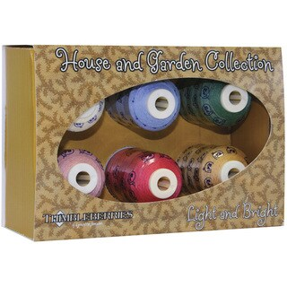 Thimbleberries Cotton Thread Home & Garden Light & Bright Collections (Pack of 6)