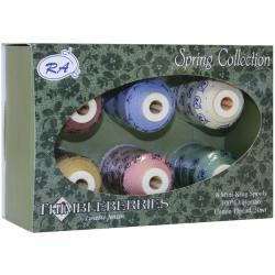 Thimbleberries Cotton Thread Spring Collections (Pack of 6)