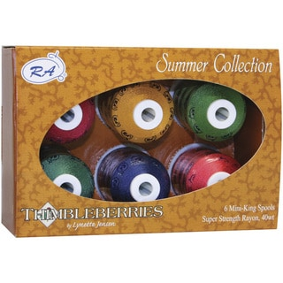 Thimbleberries Rayon Thread Collections 'Summer' (Pack of 6)