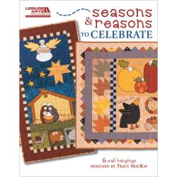 Leisure Arts 'Seasons and Reasons to Celebrate' Quilting Book