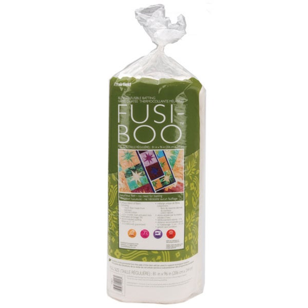 Fusi-Boo Bamboo Fusible Full-size Batting