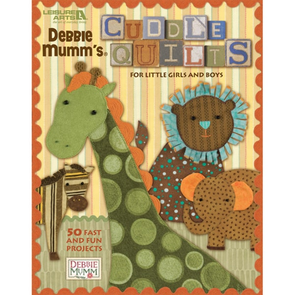 Leisure Arts 'Debbie Mumm's Cuddle Quilts' Quilting Book