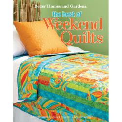 Leisure Arts 'BHG The Best of Weekend Quilts' Quilting Book