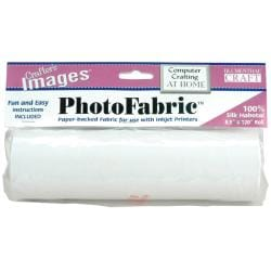 Crafter's Images PhotoFabric Silk Habotai Roll (8.5 x 120)