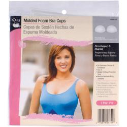 Dritz Molded Foam C/D Sew-in Supportive and Shaping Bra Cups
