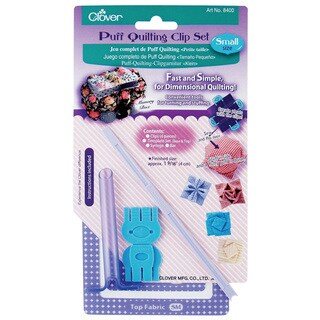 Clover Small Puff Quilting Clip Set