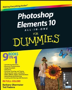 Photoshop Elements 10 All-in-One for Dummies (Paperback)