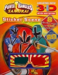 Power Rangers: Samurai 3-d Never Seen Before! Sticker Scene (Paperback)