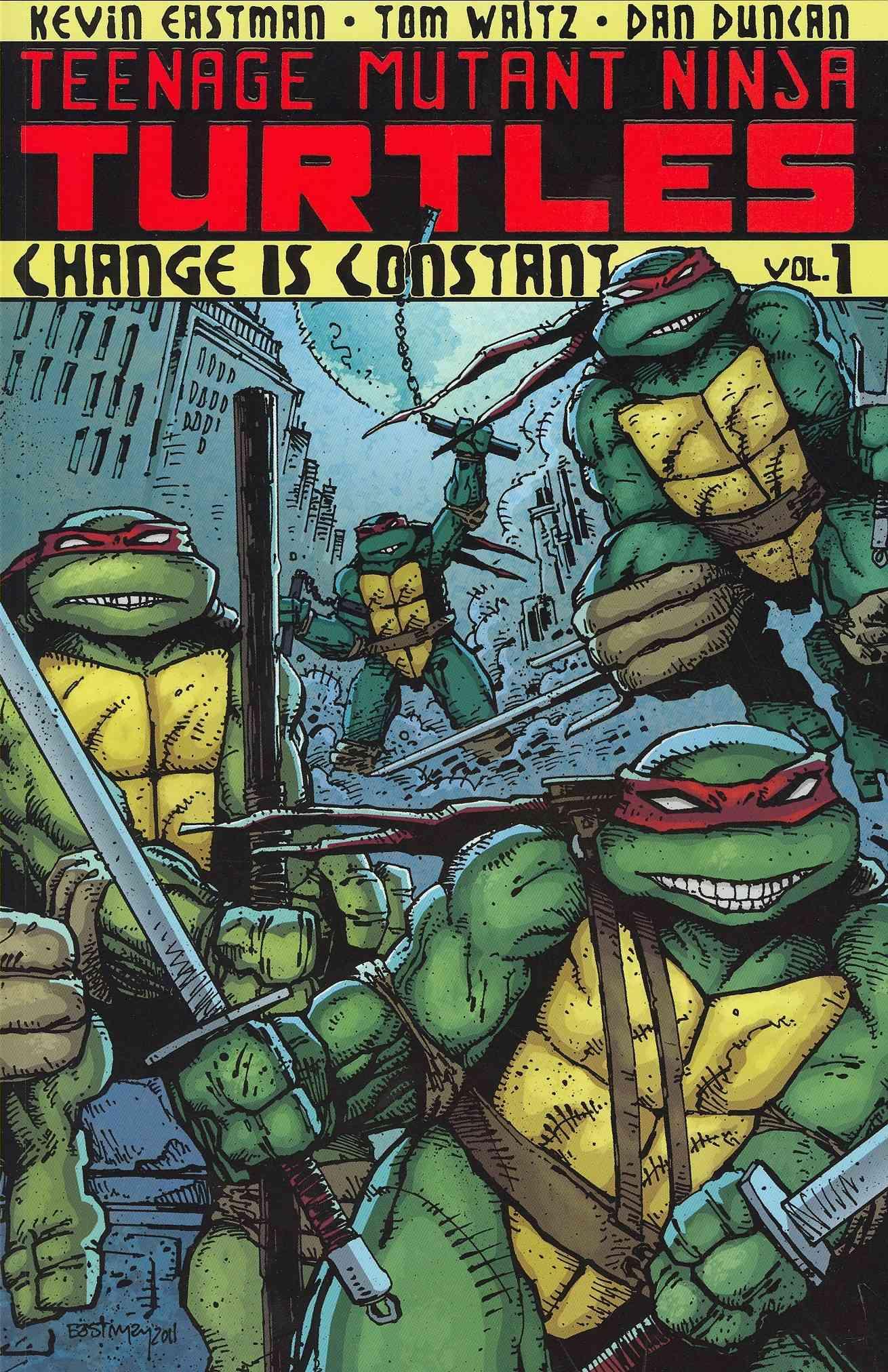 Teenage Mutant Ninja Turtles 1: Change Is Constant (Paperback)