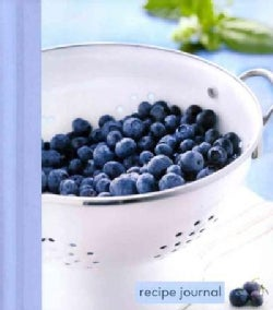 Recipe Journal: Blueberry Colander - Small (Notebook / blank book)