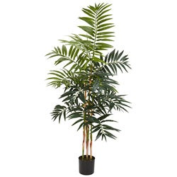 Bamboo Palm 4-foot Silk Tree
