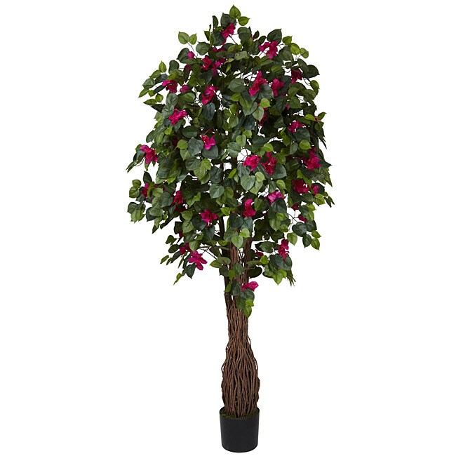 Multi Vine Bougainvillea 6-foot Silk Tree