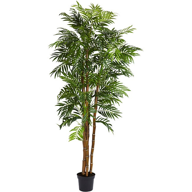 Bella Palm 6-foot Silk Tree