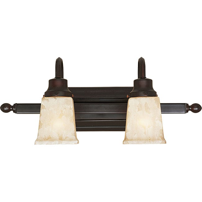World Imports Bathgate Two-light Bath Bar