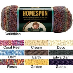 Lion Brand Homespun Machine-washable Acrylic Yarn (185 Yards)