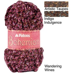 Patons Bohemian Polyester-and-acrylic 68-yard Machine-washable Yarn