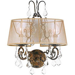 World Imports Belle Marie Collection 2-light Wall Sconce