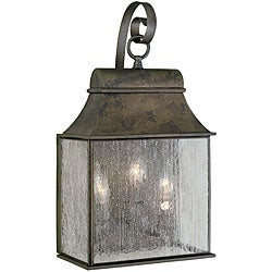 World Imports Revere Collection 3-light Outdoor Wall Lantern